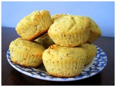 Lemon Poppy Seed Muffins with Coconut flour!