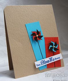 You Blow Me Away Card by Tenia Renee Nelson, via Flickr