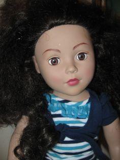 """Madame Alexander  Black Hair Brown Eyes 18"""" Doll"""