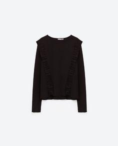 Image 8 of RUFFLE TOP from Zara