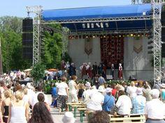 Folk festival in Lithuania #travel #lithuania
