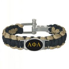Alpha Phi Alpha Cuff Bracelet