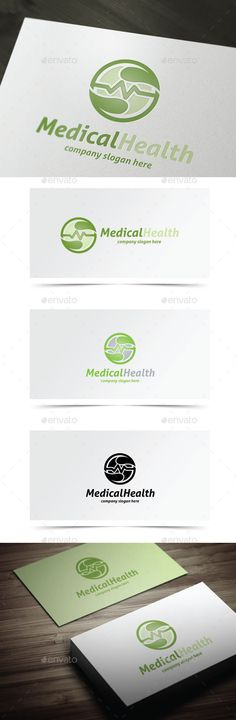 Medical Health - Logo Design Template Vector #logotype Download it here: http://graphicriver.net/item/medical-health/10490931?s_rank=1016?ref=nesto