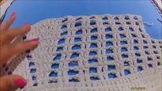 Tapete de Barbante nº 15 - Tutorial Completo - Parte 2 de 4 Blanket, Crochet, Crocheted Afghans, You Complete Me, Tejidos, Ganchillo, Blankets, Cover, Crocheting