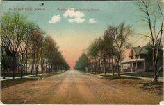 Walnut Street looking south, McPherson, KS