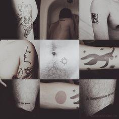 Xavier Dolan's tattoos