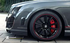 PD Aerodynamic-Kit for BENTLEY Continental GT/GTC - PRIOR-DESIGN Exclusive Tuning