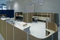 Vitra | The Workbay Office: An installation by Ronan & Erwan Bouroullec for Vitra, Salone Ufficio, Milan April 9 – 14 2013