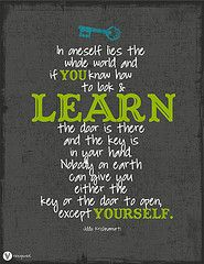 Quote about learning