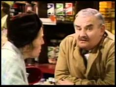 Ronnie Barker - Open All Hours - Clips, History & Tributes (Pt. 3 of Stephanie Cole, Ronnie Barker, Open All Hours, Are You Being Served, British Comedy, Best Tv, All About Time, Actors, My Favorite Things