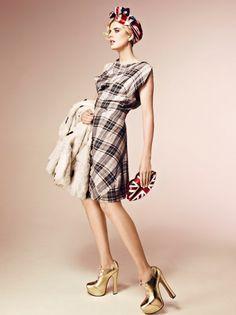 British style show by Agyness Deyn