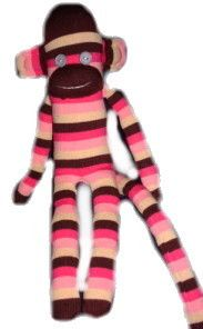 Sock Monkey- would love to make a Pirate one for G