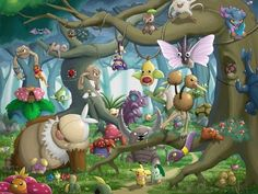 Pokemon Beautiful Huge Poster 24 x 15 inch Fast Shipping in Tube | eBay