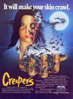 Phenomena/Creepers. a young Jennifer Connelly and a million bugs? count me in.