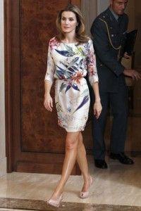 ¡La Princesa Letizia también viste de Zara!