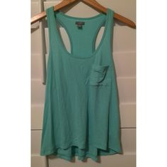 Aerie Baby Blue Tank Loose fit, ribbed. Super soft and comfy. Size small. aerie Tops Tank Tops
