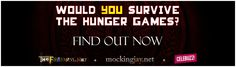Would YOU Survive The Hunger Games QUIZ!