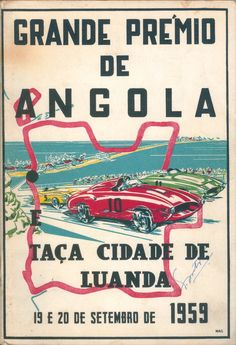 Col VN Angola — Visualizing Portugal: the New State Madagascar Movie, Grand Prix, Wake Island, Nostalgic Pictures, Africa Travel, Travel Posters, Alter, Vintage Posters, Garage Art