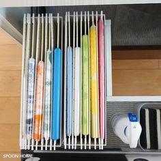 リヒトラブのハンギングフォルダー収納アイデアのブログ画像 Coin Couture, Clean Up, Office Supplies, Organization, Storage, Beds, Getting Organized, Purse Storage, Organisation