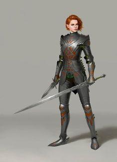 D&D - Armored Ladies