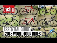 Everything you need to know about the 2018 pro team bikes, including frame manufacturers, groupset and wheel sponsors, and finishing kit suppliers