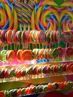 Harrods Food Halls - Lollipops by pov_steve, via Flickr