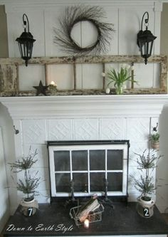 Awesome diy french country decor are offered on our internet site. Have a look and you wont be sorry you did. Tin Tiles, Tin Ceiling Tiles, French Country Rug, French Country Decorating, Old French Doors, Fireplace Mantle, Fireplace Ideas, Fireplace Cover, Mantel Ideas