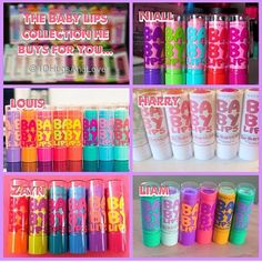 Baby lips collection you have