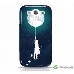 "Samsung Galaxy S3 case ""Burn the Midnight Oil"" Artist designed hardcase by Radiomode"