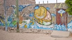 Funny graffiti in the village Sailing Trips, Thunderstorms, Grenada, Maya, Graffiti, Around The Worlds, Friends, Funny, Painting