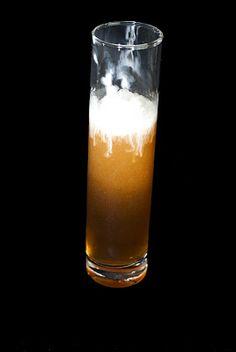 Root Beer Float     (1 shot whipped cream vodka  2 shots root beer  whipped cream)