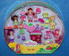 New Strawberry Shortcake Hat Box Mini Doll Clothing Lot Exclusive Toy Set | eBay