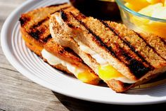 Grilled Grilled Cheese