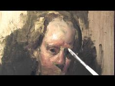 Painting the Self Portrait  DVD Teaser Michael Siegel -  Highlights And Color Ideas