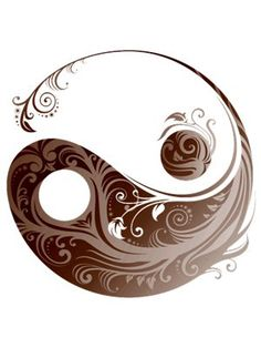 Ying & Yang, this would be a pretty wicked tattoo!