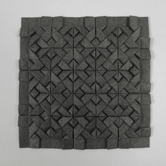 Square Interlace Tessellation - models folded and photographed by Michal Kosmulski