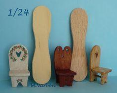 Muñecas Miniatura 1/12 y 1/24 de creación: junio 2010