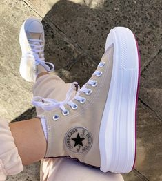 Mode Converse, Outfits With Converse, New Converse, Sneakers Fashion, Fashion Shoes, High Top Sneakers, Shoes Sneakers, Cheap Sneakers, Aesthetic Shoes