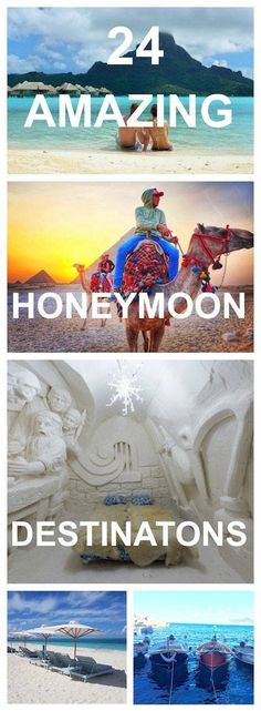 24 Amazing Honeymoon Destination Ideas - While it is exciting to plan, with so many destinations to choose from, it can be overwhelming. To help you find the perfect honeymoon destination for you, here are 24 honeymoon destination recommendations from 24 other travel bloggers.