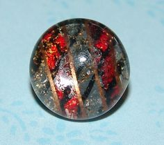Striking Antique Kaleidoscope Dome Button ~ Original DUG Button ~ Design Under Glass Button Red Silver Gold Black Diamond Very Nice!  Measures 9/16 Steel Back Brass Loop Shank Circa 1840 Very Good Condition  Great for Collecting, Reenactment, Sewing, Jewelry, Art and MORE!  Thank you for stopping by. Please convo me with any questions.
