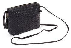 Bottega Veneta Navy Woven Bag on OneKingsLane.com Another one ( not) for me!