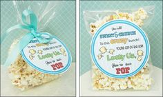 """Father's Day Homemade Gift Ideas Label """"Pop"""""""