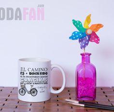 Taza personalizada para regalo a invitados de bodas. www.bodafan.com