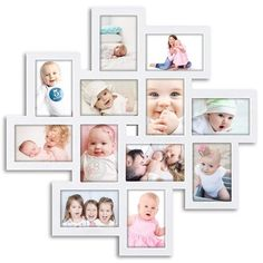 Wall Hanging Photo Frames, Frame Wall Collage, Collage Picture Frames, Painting Frames, White Picture Frames, Picture Frame Sets, Outdoor Furniture Design, Picture Photo, Gallery Wall