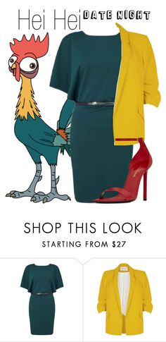 """""""Hei Hei~ DisneyBound"""" by basic-disney ❤ liked on Polyvore featuring Disney, Miss Selfridge, River Island and Yves Saint Laurent"""