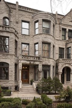 Stunning and classic Chicago greystone. #Dreamhome