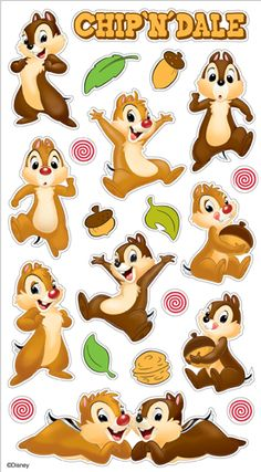 EK Success - Disney Collection - Classic Stickers - Chip and Dale at Scrapbook.com $1.64