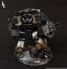 Oozing With Heresy - Death Guard Leviathian Commission - Spikey Bits Imperial Knight, Game Workshop, Painting Services, Painting Studio, Starcraft, Warhammer 40000, Space Marine, Death, Miniatures