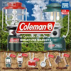 コールマン ミニチュアマスコット2   商品詳細情報   商品をさがす   タカラトミーアーツ