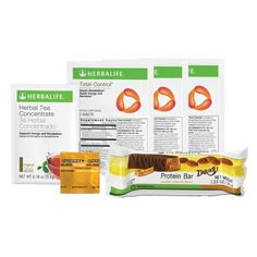 Herbalife Weight Loss Challenge Product Sample Pack Protein Bar Deluxe Vanilla Almond 1 Herbal Tea Concentrate 1 packet Total Control tablets 2 packets of 3 tablets each Formula 1 PDM On The Go 1 packet * More info could be found at the image url. Weight Loss Challenge, Weight Loss Program, Total Control Herbalife, Herbal Tea Concentrate, Herbalife Weight Loss, Er 5, Carb Blocker, Raspberry Ketones, Green Tea Extract